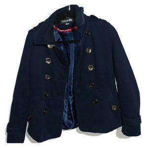 Navy Blue Soft Coat